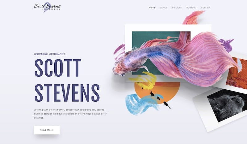 Astra - Best WordPress Themes for Photographers