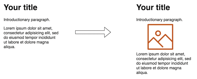 Text will shift if image dimensions are not provided to the browser.